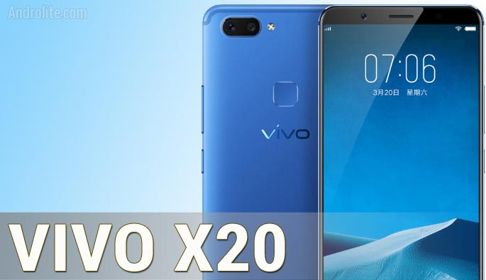 Vivo X20 Harga dan Spesifikasi Lengkap