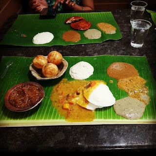 Murugan Idli, Chennai, Food, banana leave, Vada