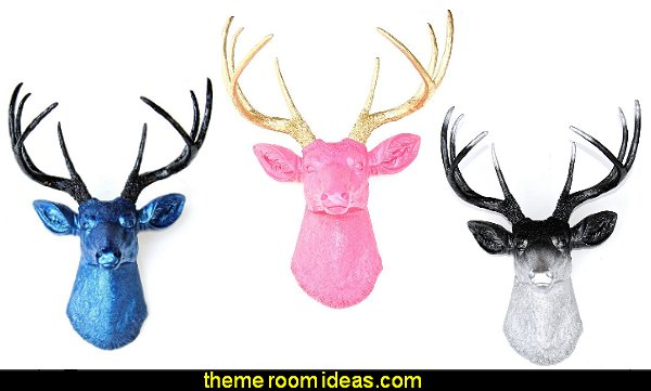 Faux Taxidermy Deer Head Faux Deer Head Wall Mount