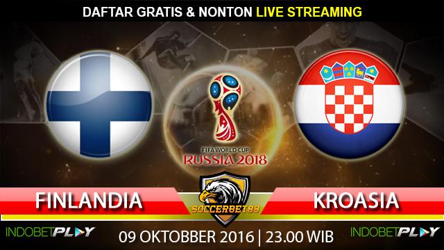 Prediksi Finlandia vs Kroasia 09 Oktober 2016 (Piala Dunia 2018)
