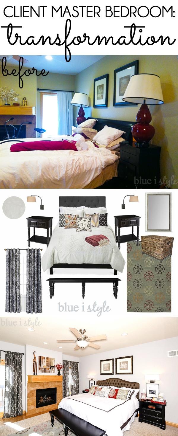 Client Master Bedroom Transformation