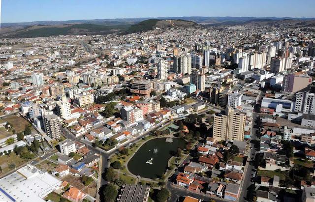 Vista aérea de Lages - SC
