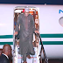 President Buhari arrives in Abuja after London vacation