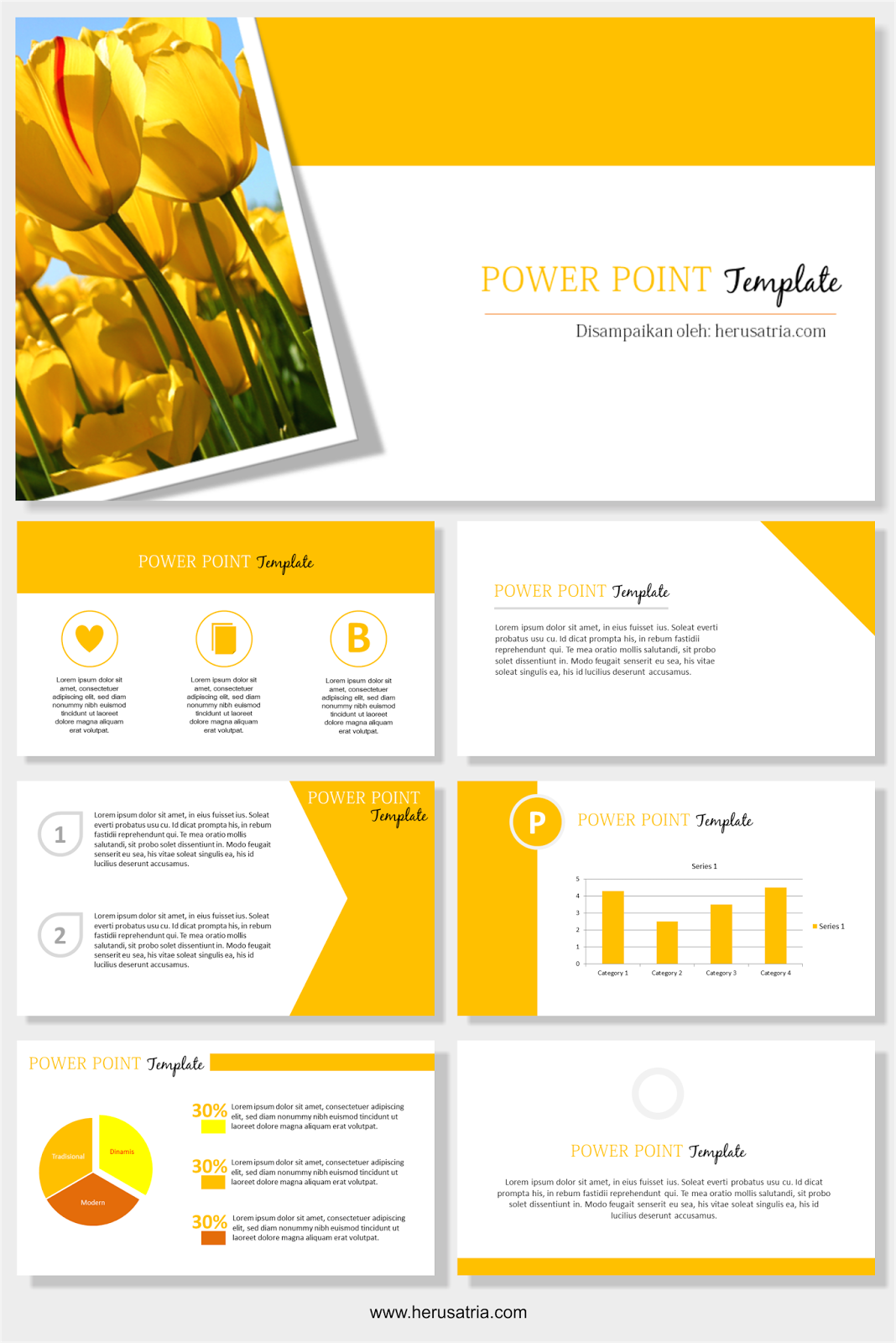 Free Oren Power Point Template