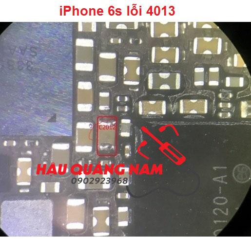 Chia sẻ iPhone 6s lỗi 4013 Ok