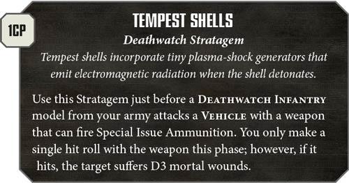 Esrtatagemas Deathwatch
