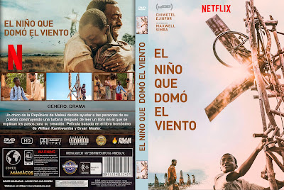 CARATULA EL NIÑO QUE DOMO EL VIENTO - THE BOY WHO HARNESSED THE WIND [COVER-DVD]