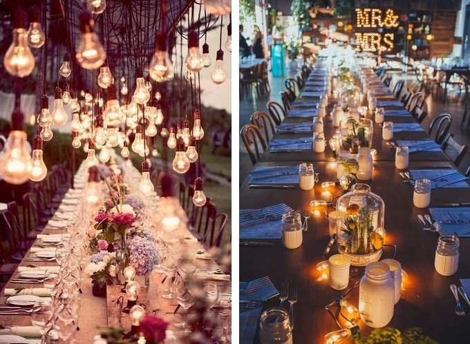 26 Creative Lighting Ideas For Your Wedding Reception