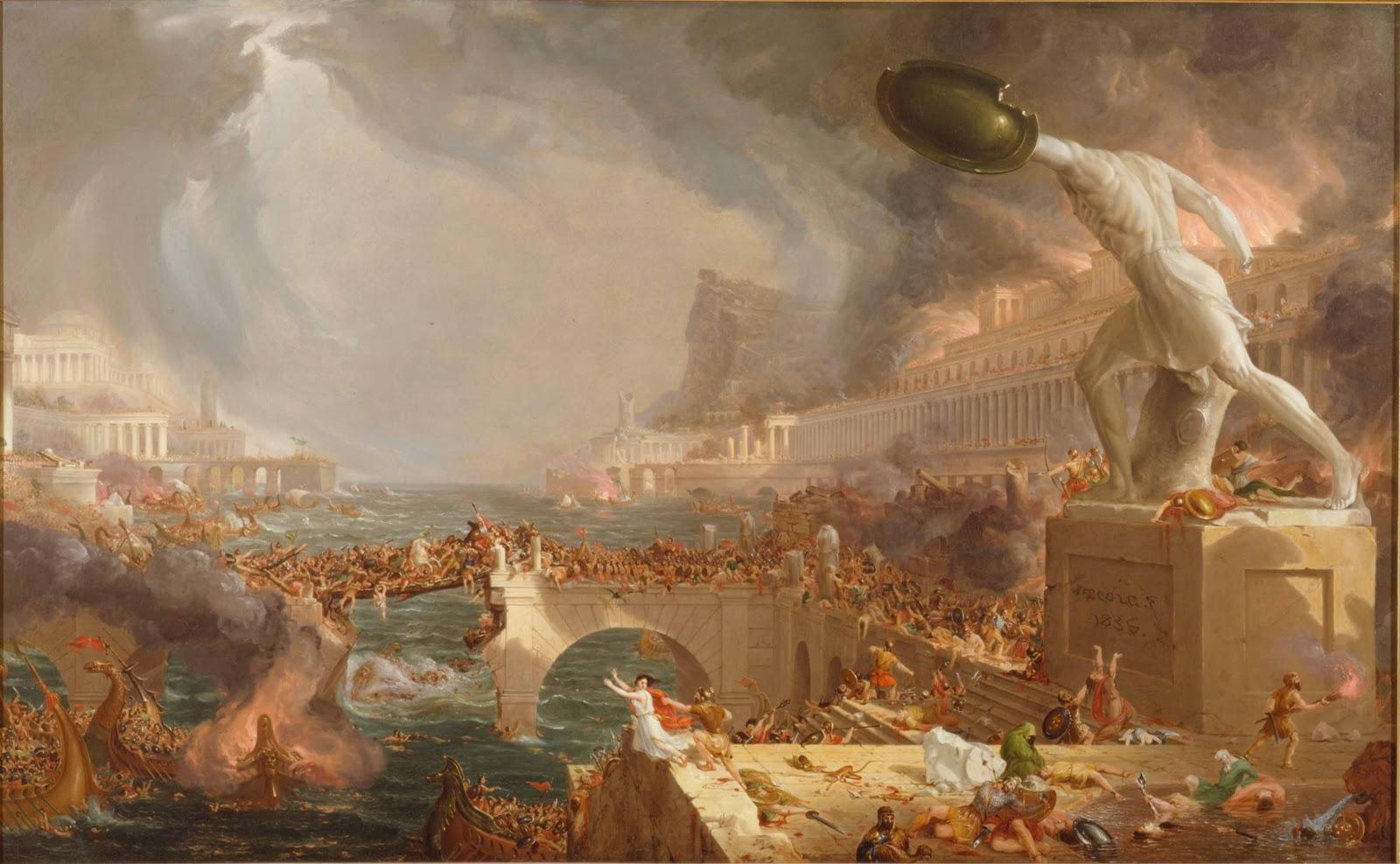 Thomas  Cole  Destruction