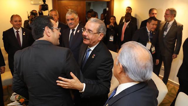 Danilo se reúne con homólogos antes de plenaria del SICA
