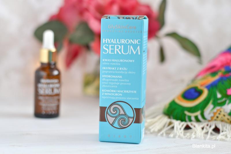 serum hyaluronic, kwas hialuronowy, serum z kwasem hialuronowym, serum glyskincare, serum nawilżające