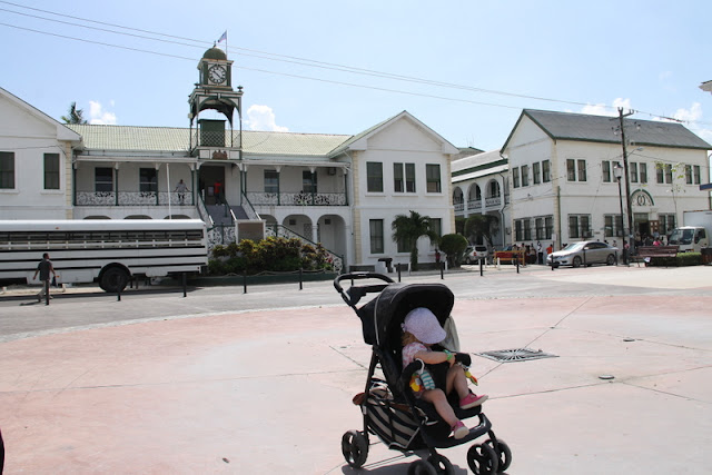 Belize cityn keskusta