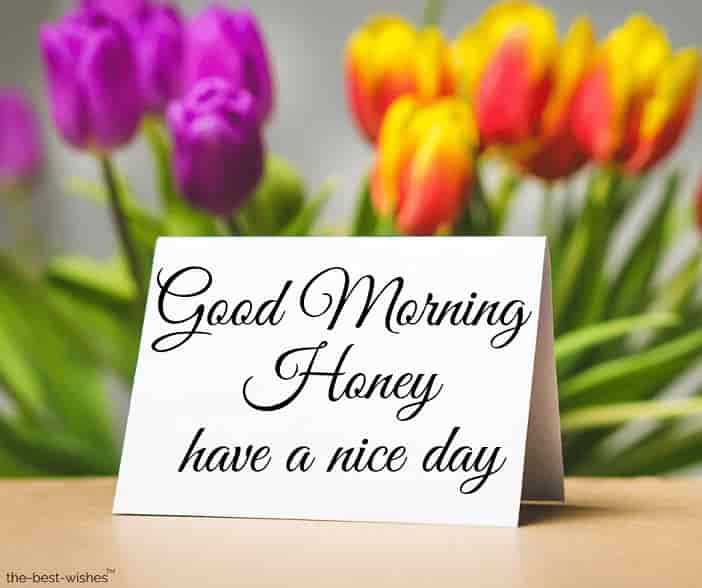 have a nice day honey