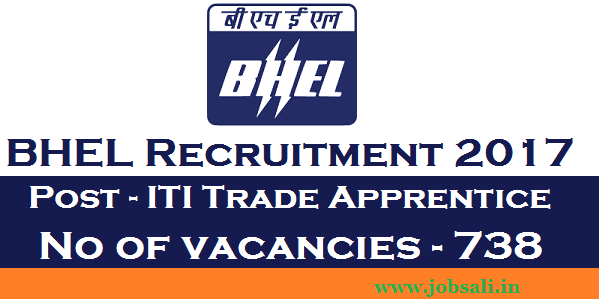 iti trade apprentice new vacancy, bhel careers, BHEL Trade Apprentice""
