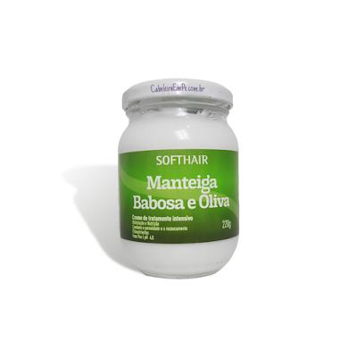 Manteiga Soft Hair de Babosa e Oliva - Resenha