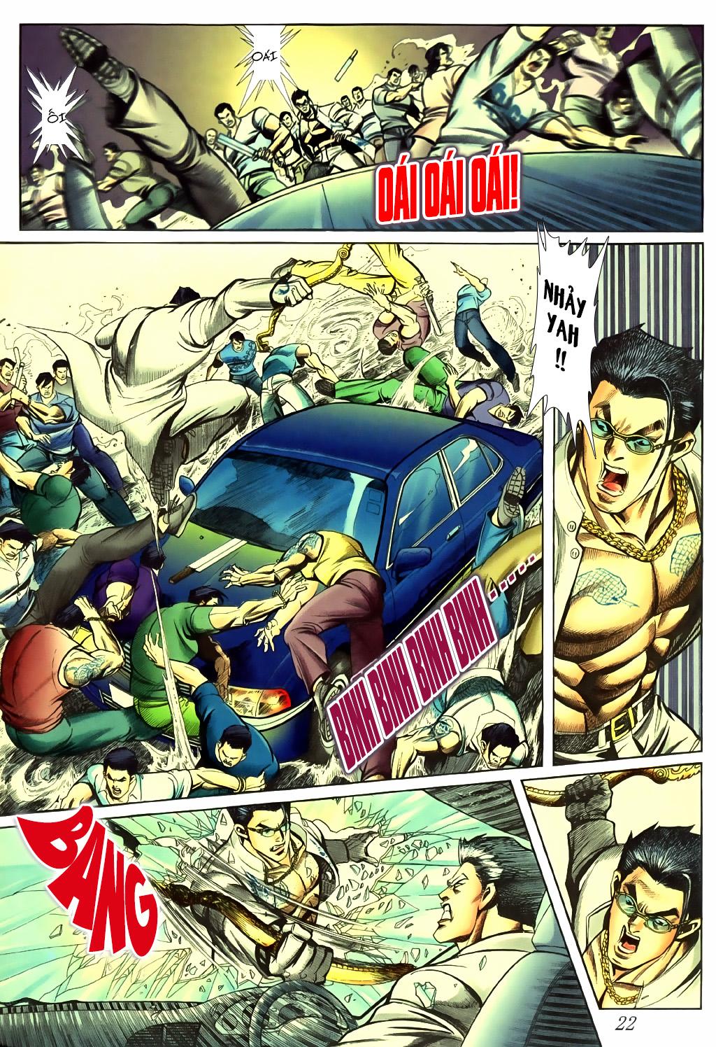 Người Trong Giang Hồ chapter 430 trang 16