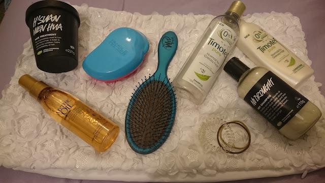 hair care, long hair