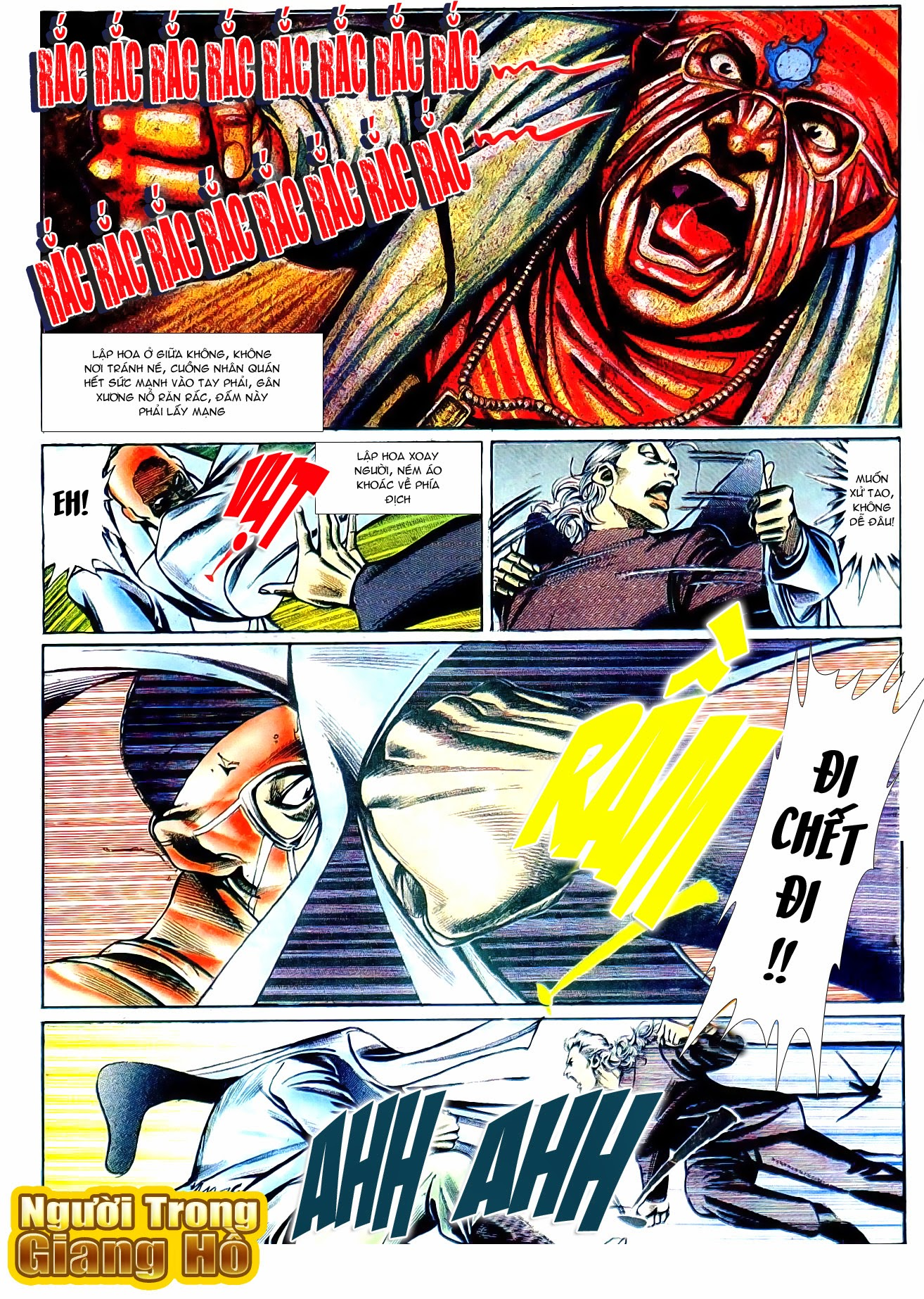 Người Trong Giang Hồ chapter 101: vô địch100% trang 18