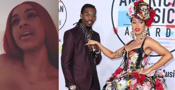 Shocking Video: Cardi B Announces Breakup With Offset