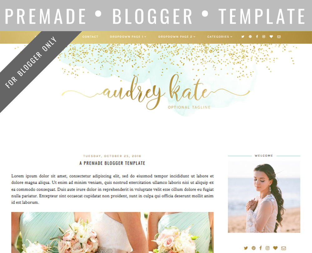 Fully mobile responsive Blogger templates & a discount | The Dutch ...