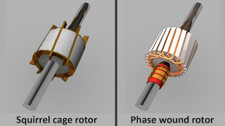 different type of induction motor