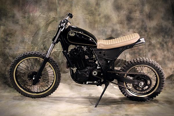 milchapitas kustom bikes suzuki dr650 by lab motorcycle. Black Bedroom Furniture Sets. Home Design Ideas
