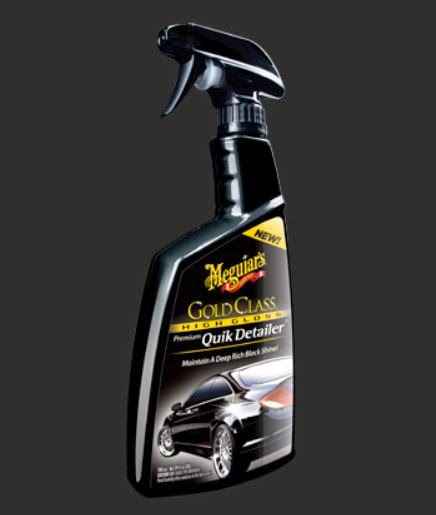 product review mequiar 39 s gold class quik detailer spray. Black Bedroom Furniture Sets. Home Design Ideas