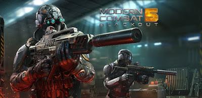 Modern Combat 5 Apk + Data [Infinite+Unlocked] Download