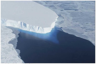 Huge Cavity in Antarctic Glacier Signals Rapid Decay