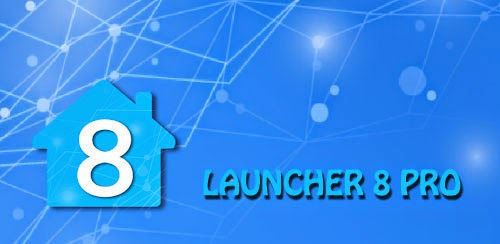 Download Launcher 8 Pro v2.4.5 APK TERBARU