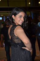 Wamiqa Gabbi in a sleeveless Black Designer Transparent Gown at 64th Jio Filmfare Awards South ~  Exclusive 064.JPG