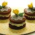 Bizcochitos de coco y  chocolate (whoopies)