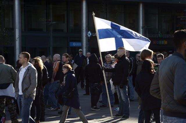 Crise em andamento na Finlândia