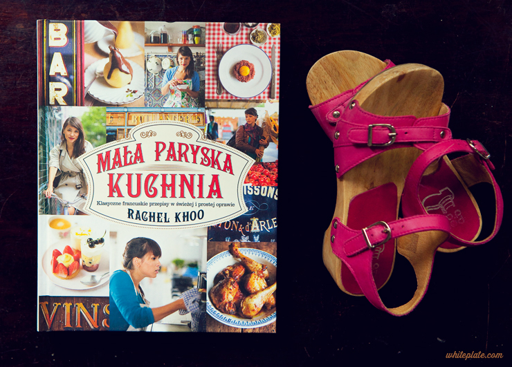 Mała Paryska Kuchnia Rachel Khoo White Plate