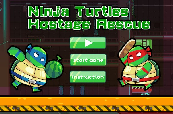 Hostage Rescue Teenage Mutant Ninja Turtles Game