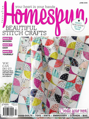 Homespun Magazine June 2016