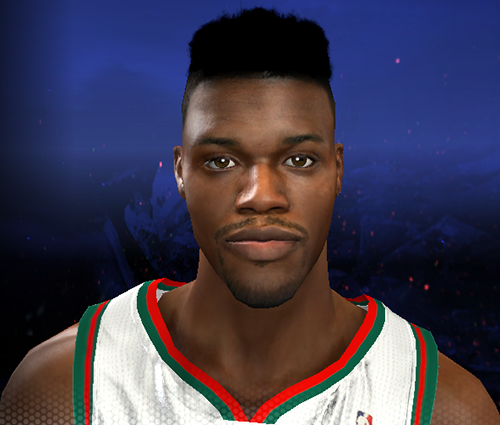 Jeff Adrien's Hair | NBA 2K14 Patch