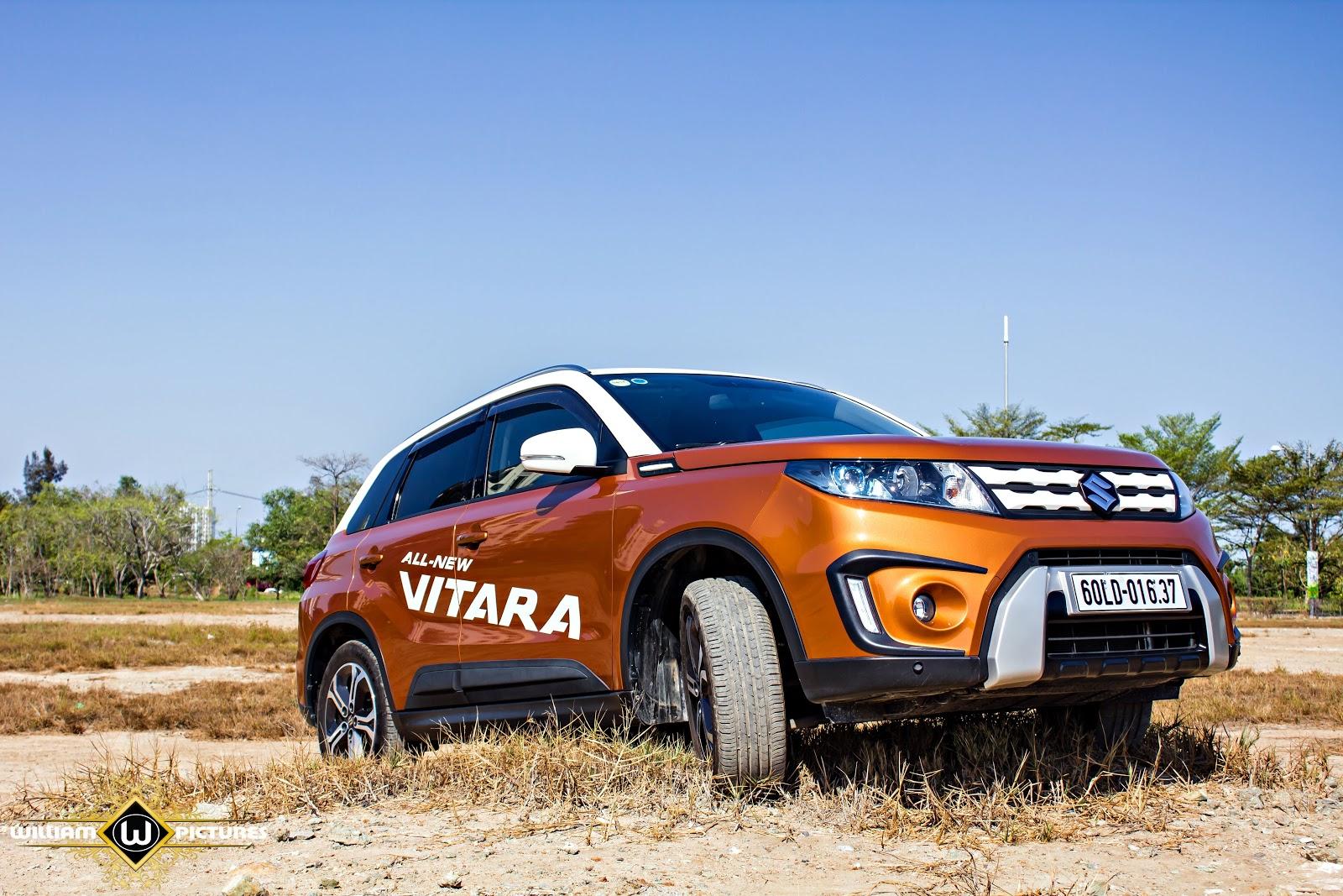 Suzuki Vitara 2016 đa nhiệm hơn, sang hơn, thông minh hơn và hiện đại hơn