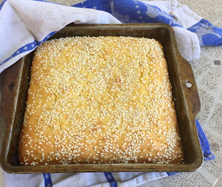 Tunisian Orange and Olive Cake Recipe