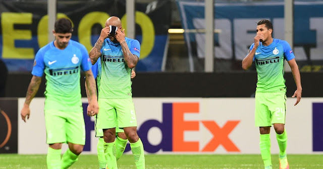 Europa League Inter Beer Sheva 0-2 highlights