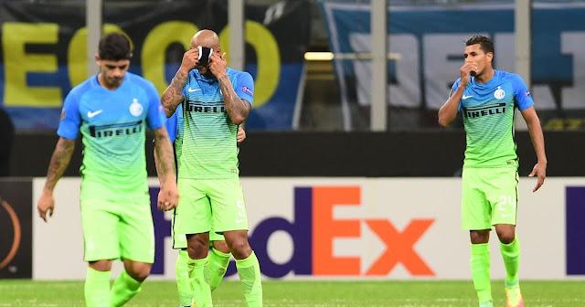 Europa League Inter Beer Sheva 0-2 highlights