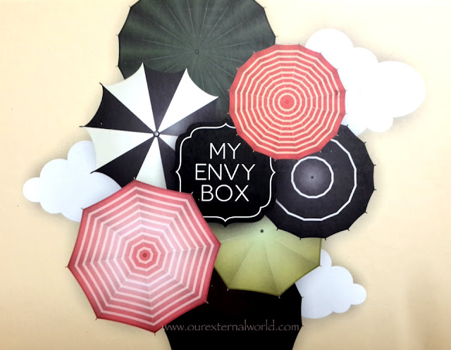 Unboxing - My Envy Box Monsoon Edition, indian beauty blog