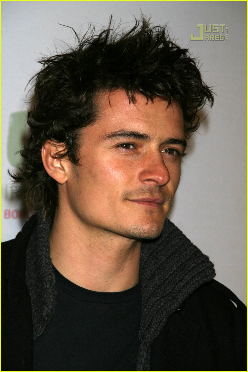 Hairstyles For Men Orlando Bloom Hair Blockbuster Star