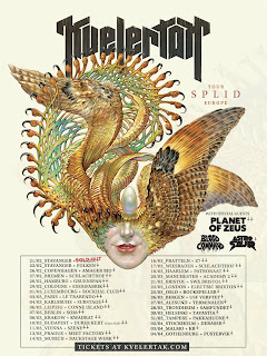 Kvelertak & Planet of Zeus 2020 Euro-tour