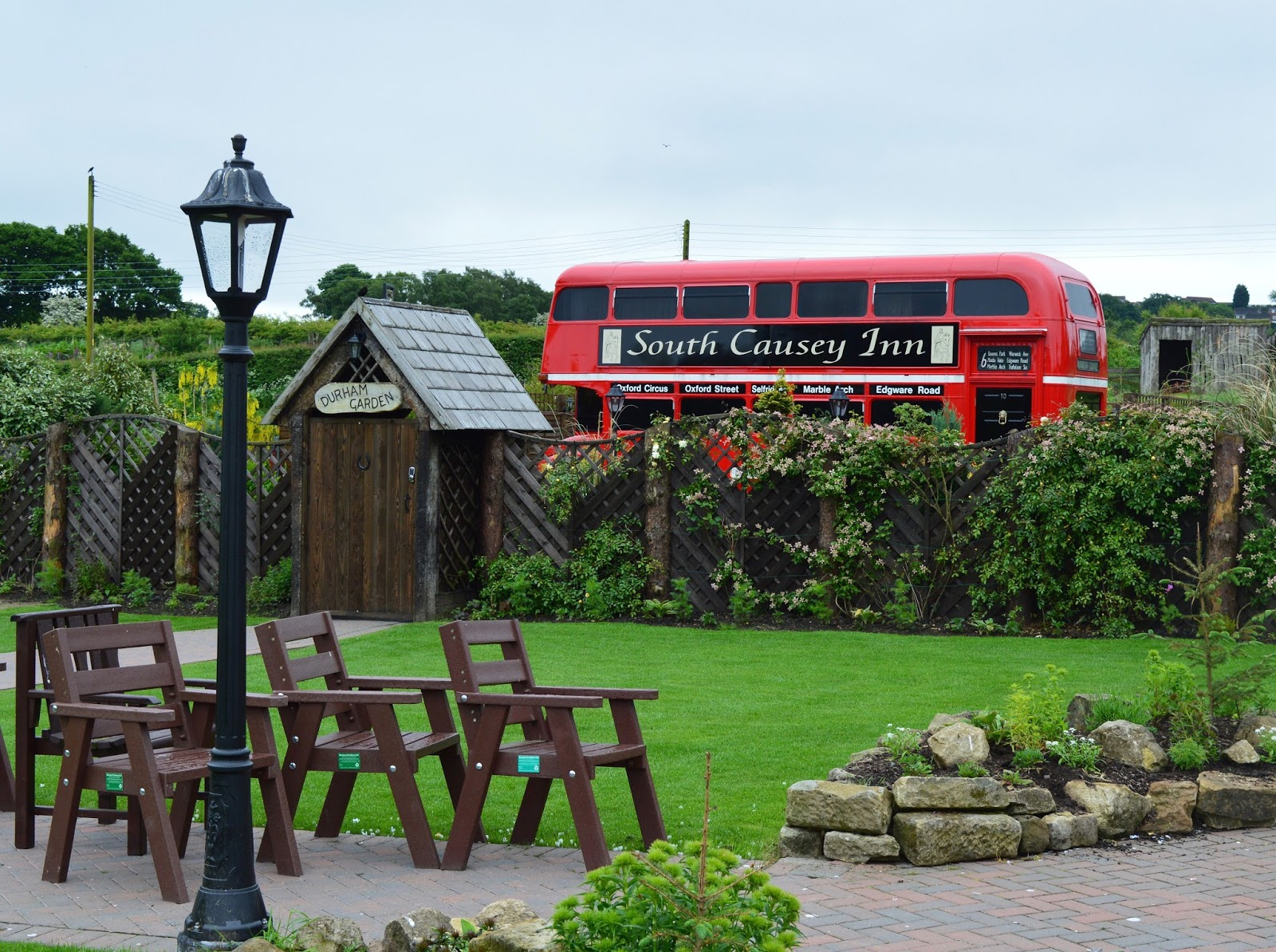 5 unique places to celebrate your wedding anniversary in North East England | London Bus with Hot tub, County Durham