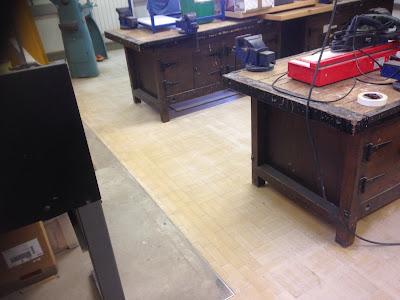 Sanded Gramwood floor