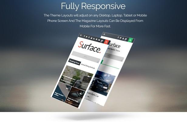 Surface - Responsive Magazine Blogger Theme - 2
