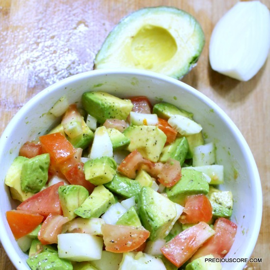 cameroon avocado salad