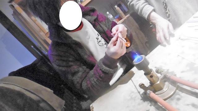 北海道 小樽 彩や とんぼ玉体験