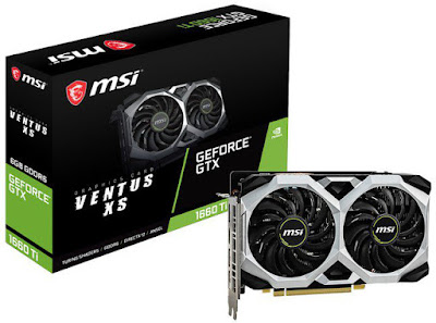 MSI GeForce GTX 1660 Ti Ventus XS